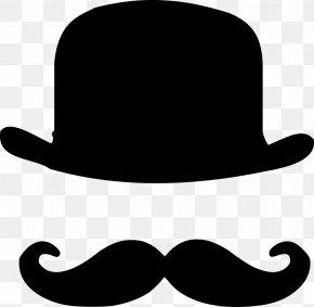 Kentucky Derby-hat - T-shirt Moustache Bowler Hat Top Hat PNG