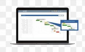 Gantt Chart - Computer Program Image Scanner Computer Software Software As A Service Data PNG