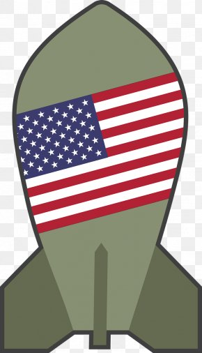 United States - Flag Of The United States Nuclear Weapon Bomb Clip Art PNG