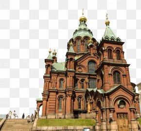 Orthodox Church - Uspenski Cathedral, Helsinki Porvoo Eastern Orthodox Church Architecture PNG
