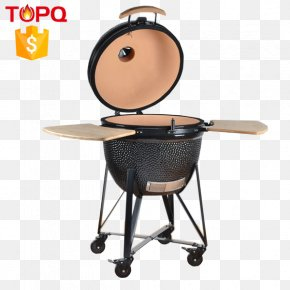 Bbq Grill - Barbecue Kamado Ceramic Big Green Egg PNG