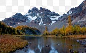 Canada Mount Assiniboine Provincial Park Nine - Mountain River Nature 4K Resolution Wallpaper PNG