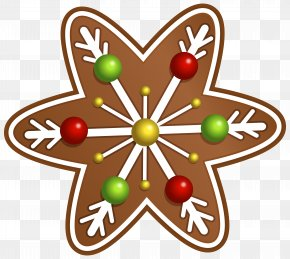Christmas Cookie Star Clipart Image - Christmas Cookie Clip Art PNG