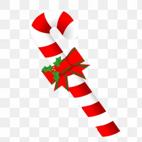 Christmas - Christmas Decoration Candy Cane Gift PNG