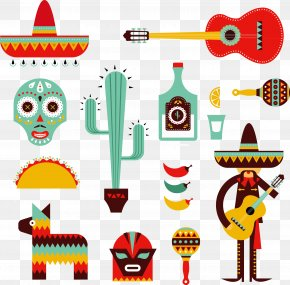 Mexican Style - Mexico Mexican Cuisine Stock Illustration Illustration PNG