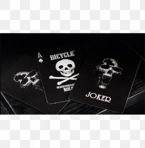 Skull - Bicycle Playing Cards United States Playing Card Company Paper Card Game PNG