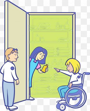 Cartoon First Aid Room - Patient Cartoon PNG