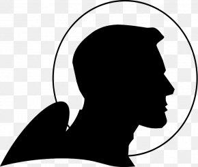 Vintage Spaceship Cliparts - Buck Rogers Astronaut Silhouette Clip Art PNG