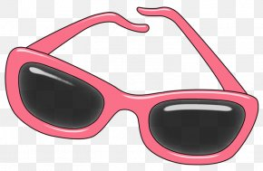 Pink Sunglasses - Goggles Sunglasses Pink PNG