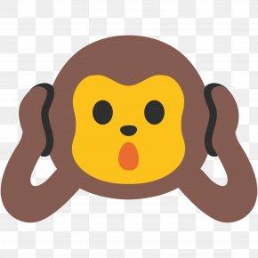 Monkey - The Evil Monkey Three Wise Monkeys Emoji YouTube PNG