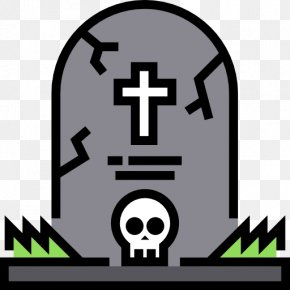 Cemetery - Headstone Cemetery Icon PNG