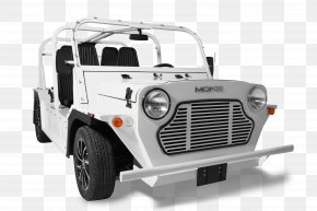 Car - Mini Moke Car Electric Vehicle MG PNG