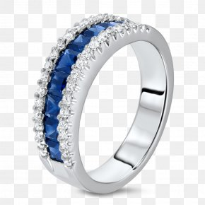 Sapphire Diamond Ring Settings - Sapphire Ring Jewellery Diamond PNG