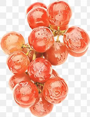 Vitis Peach - Grape Cartoon PNG