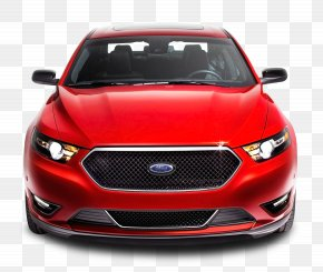Red Ford Taurus Front Car - 2013 Ford Taurus SHO 2015 Ford Taurus SHO Car Ford S-Max PNG