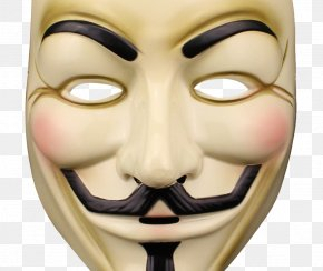 Mask - Guy Fawkes Mask Anonymous PNG