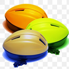 Safety Helmet For Object Bicycle - Helmet Plastic Bicycle Safety PNG