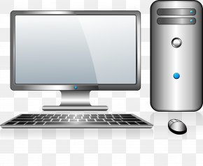 Gray Digital Computer - Computer Mouse Laptop Computer Monitor PNG