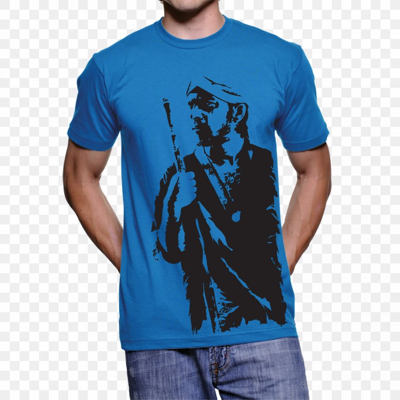 T-shirt Hoodie Clothing Sleeve, PNG, 2485x2485px, Tshirt, Active Shirt, American Apparel, Atlee Kumar, Blue Download Free