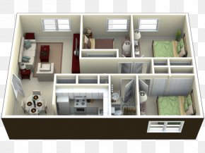 Apartment House - Floor Plan Apartment House Villa Room PNG