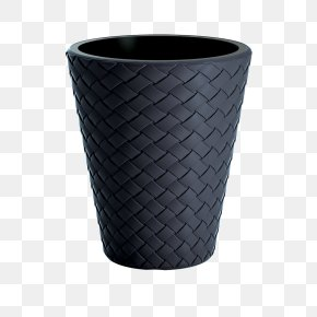 Flowerpot Plastic Anthracite Packaging And Labeling Basket PNG