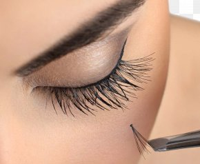 Female Eye - Eyelash Extensions Beauty Parlour Cosmetics PNG