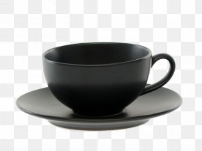 Black Coffee Cup - Coffee Cup Espresso Tea Mug PNG