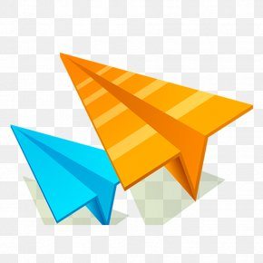 Creative Paper Airplane - Paper Plane Airplane PNG
