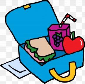 Preschool Breakfast Cliparts - Lunchbox School Meal Clip Art PNG