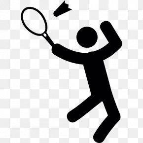 Badminton Player - How To Play Badminton Shuttlecock Sport Clip Art PNG
