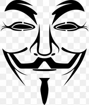 Mask - Guy Fawkes Mask Evey Hammond Clip Art PNG