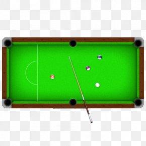 Hand-painted Pool Table - Billiard Table Pool Billiards Snooker PNG