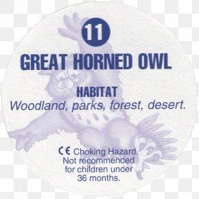 Great Horned Owl - Bird Of Prey Milk Caps Great Horned Owl PNG