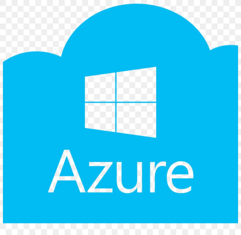 Microsoft Azure SQL Database Cloud Computing Virtual Machine, PNG, 800x800px, Microsoft Azure, Amazon Web Services, Area, Blue, Brand Download Free