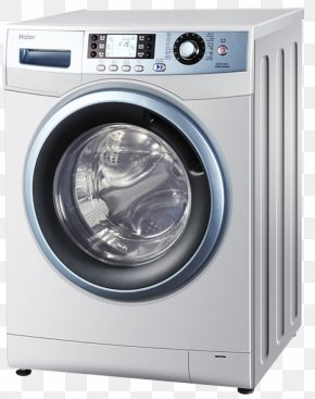 Haier Automatic Washing Machine Drum - Washing Machine Haier Home Appliance PNG
