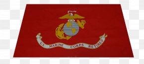United States - Flag Of The United States Marine Corps Military PNG