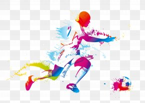 Football - Football Player Kick PNG