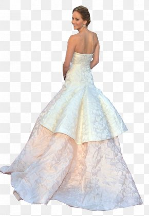 Jennifer Lawrence - Wedding Dress Gown Clothing Formal Wear PNG
