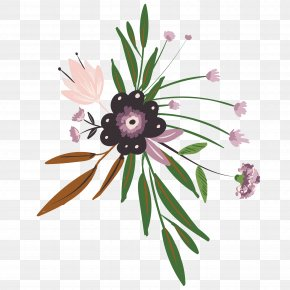 Floral Decoration - Floral Design Flower Drawing PNG