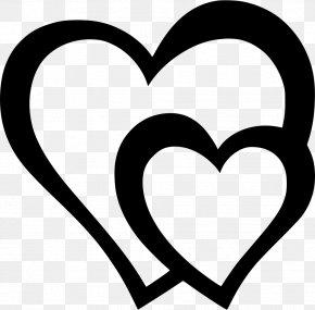 Heart - Love Heart Line Clip Art PNG