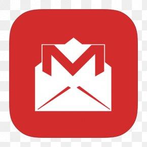 MetroUI Google Gmail Alt - Area Text Brand Signage PNG