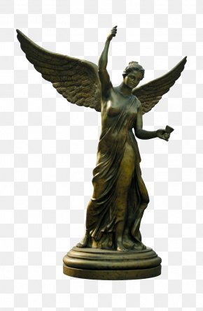 Angel Statue Sculpture - Statue Angel Classical Sculpture U50cf PNG