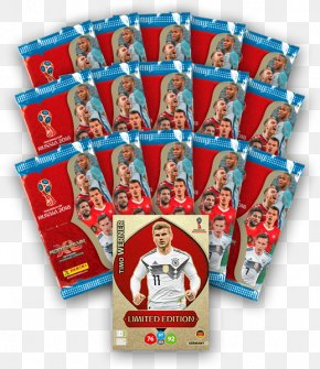 Timo Werner - 2018 FIFA World Cup Adrenalyn XL Sport Collectable Trading Cards Russia PNG