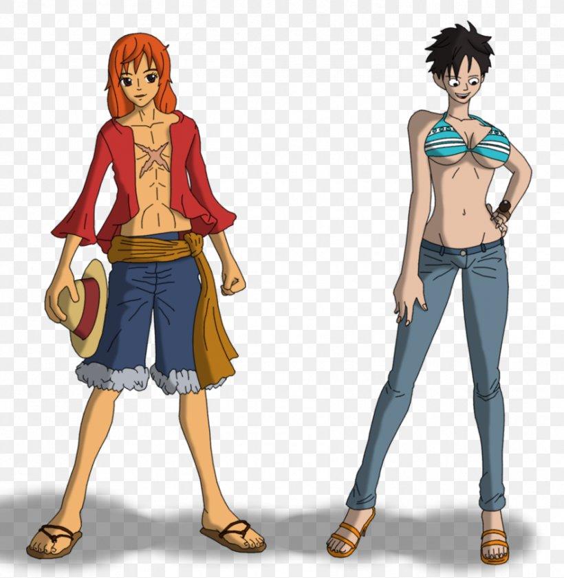 Monkey D Luffy Nami One Piece Grand Adventure Body Swap