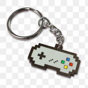 Super Nintendo Entertainment System Key Chains Keychain Access Video Game Consoles Gamepad PNG