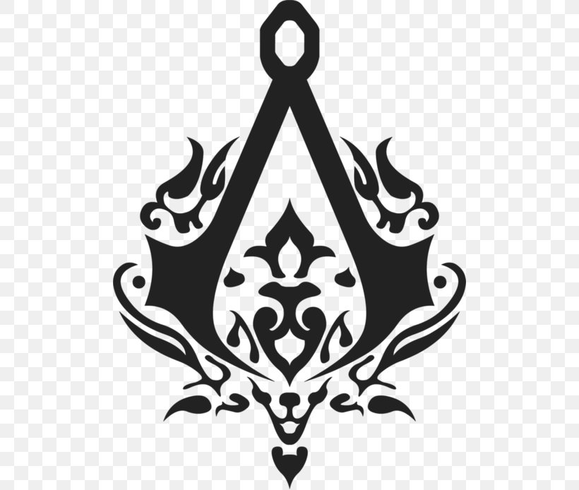 Assassin's Creed III Assassin's Creed: Brotherhood Ezio Auditore Assassin's Creed Unity, PNG, 500x694px, Ezio Auditore, Assassins, Black, Black And White, Emblem Download Free