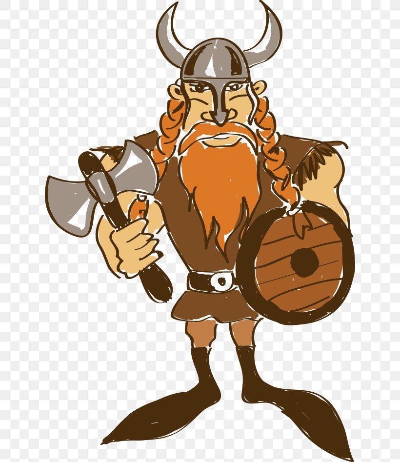 Viking Cartoon Drawing Illustration, PNG, 636x947px, Viking, Animation, Art, Cartoon, Character Download Free