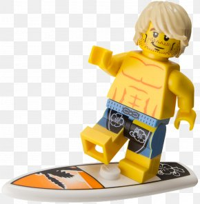 Surfing Hd - Hawaii Lego Minifigures Lego City PNG