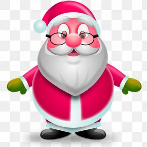 Santa Claus - Santa Claus Christmas Iconfinder Icon PNG