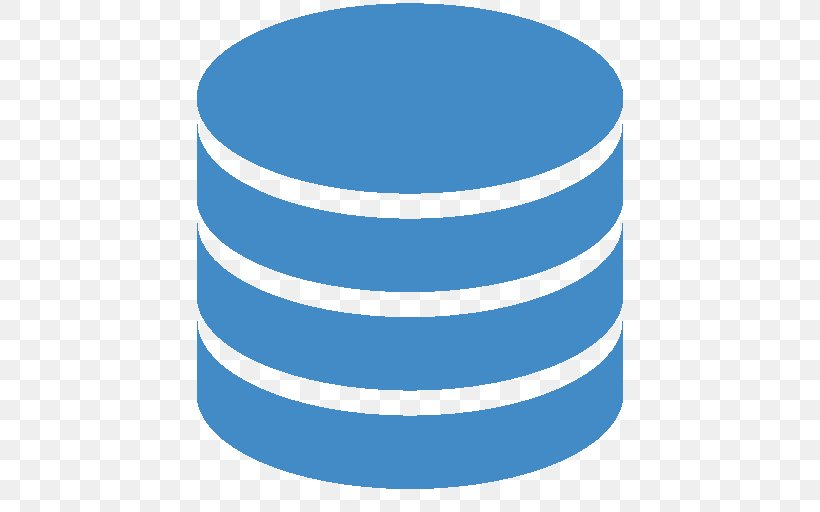 Database Icon, PNG, 512x512px, Database, Blue, Computer Software, Database Server, Flat File Database Download Free